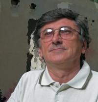 Santl János tervező, építészmérnök önarckép